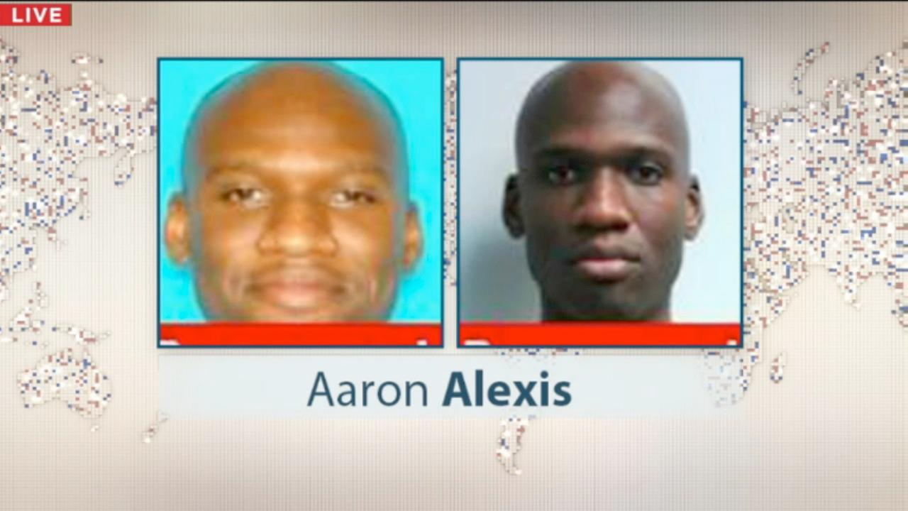 34-year-old Aaron Alexis