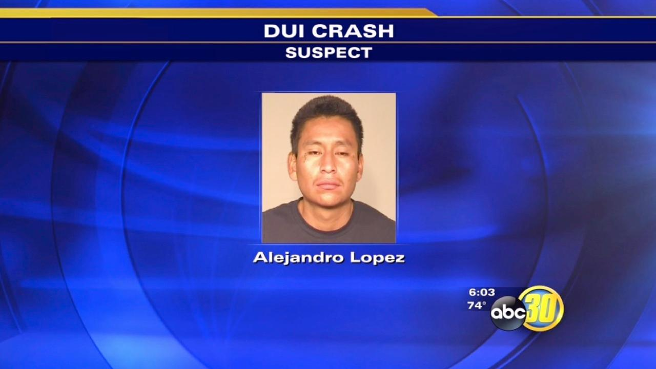 Fresno man faces DUI charges after Tower District crash