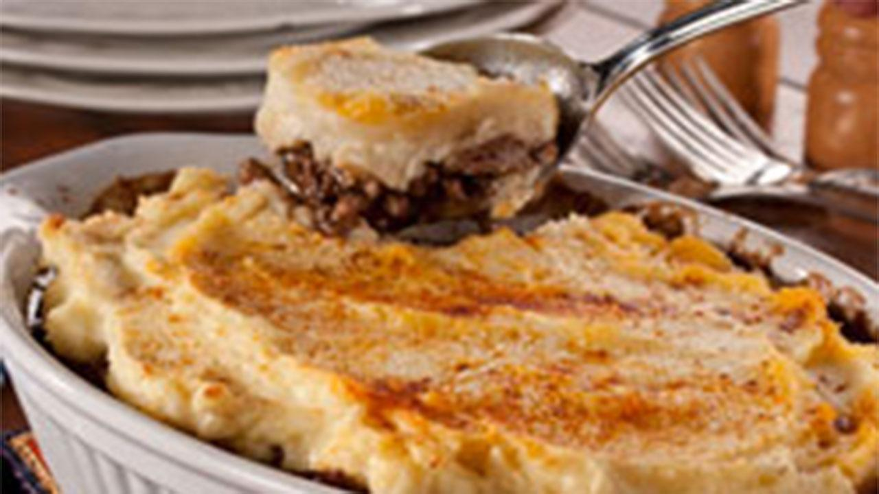 Easy Cheesy Cottage Pie