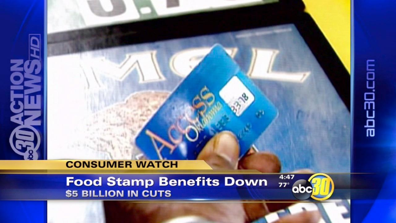 Food stamps to be cut $5 billion