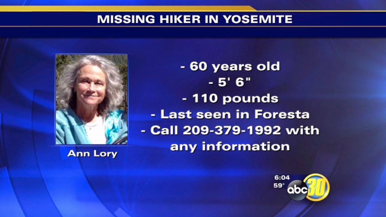 Missing Yosemite hiker found alive