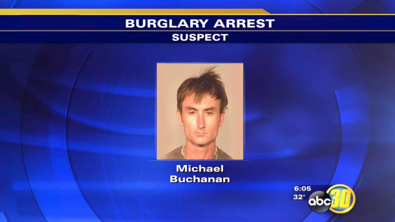 Fresno burglary suspect arrested in Central Fresno