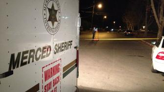 (KFSN Photo) Planada shooting scene