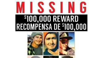 Missing person poster for Ryan Rodriquez