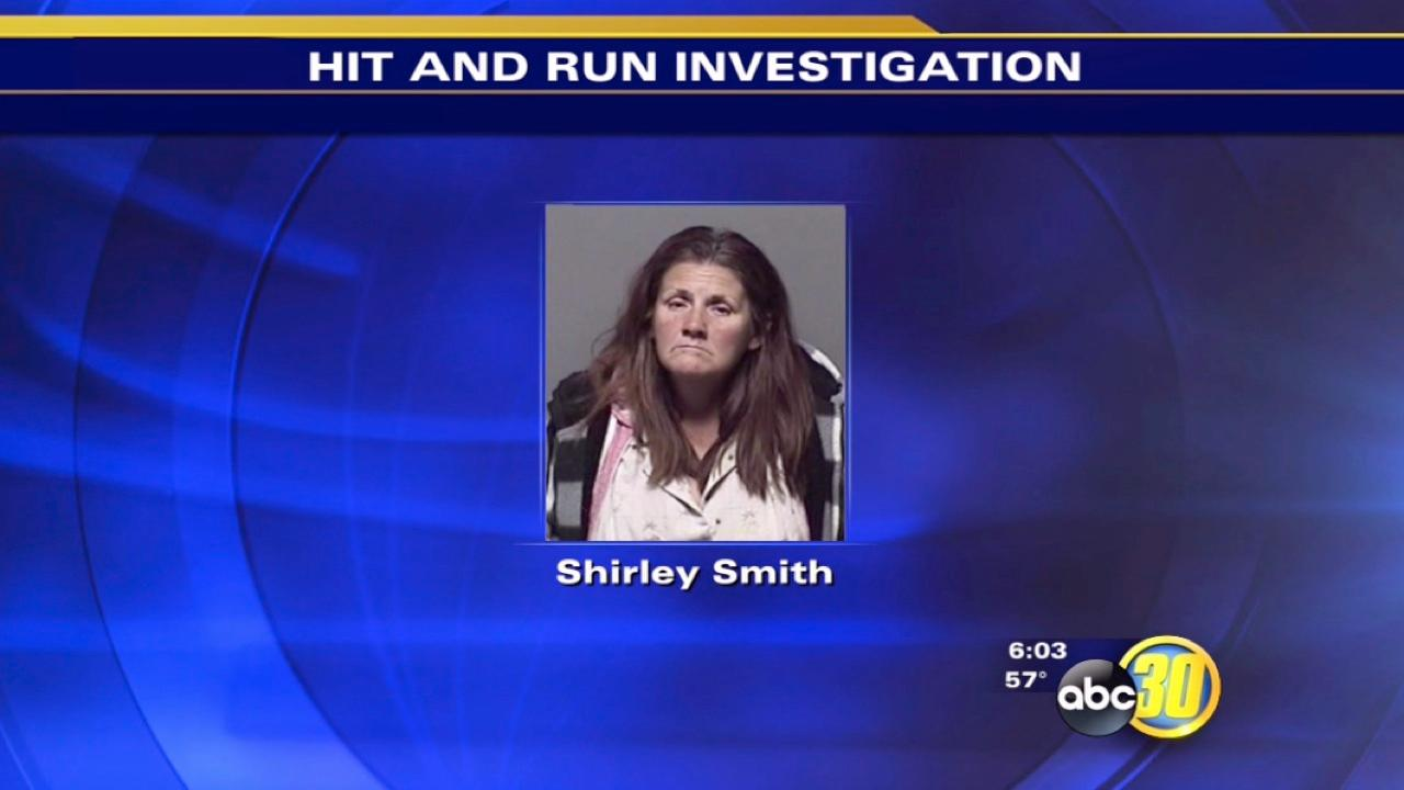 Merced County hit-and-run driver Shirley Smith