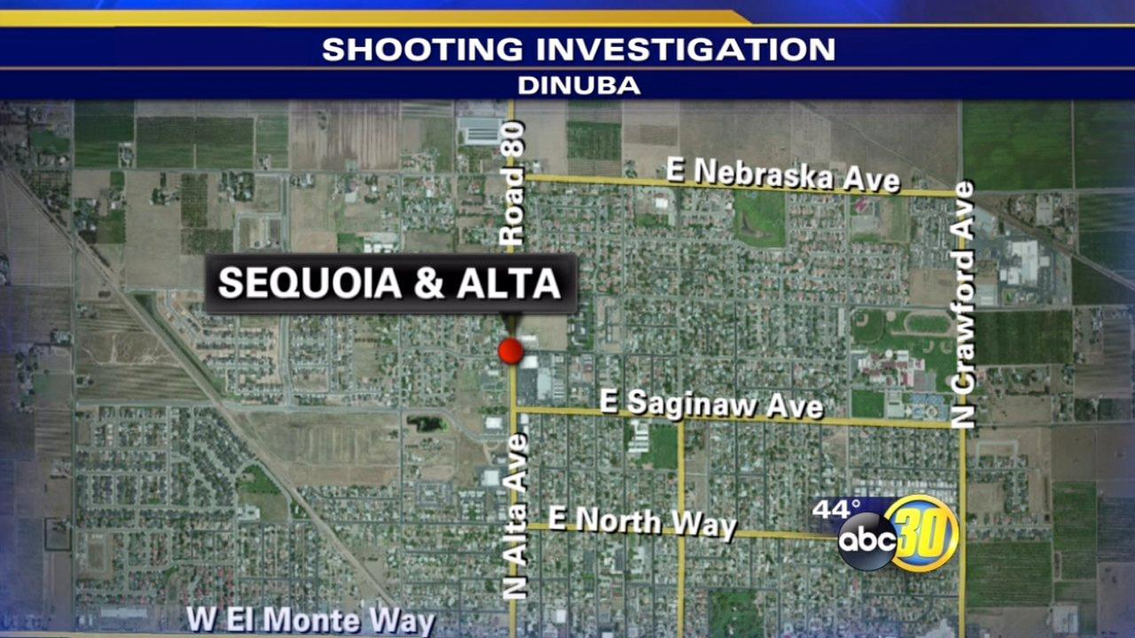 Dinuba man shot while driving to the store