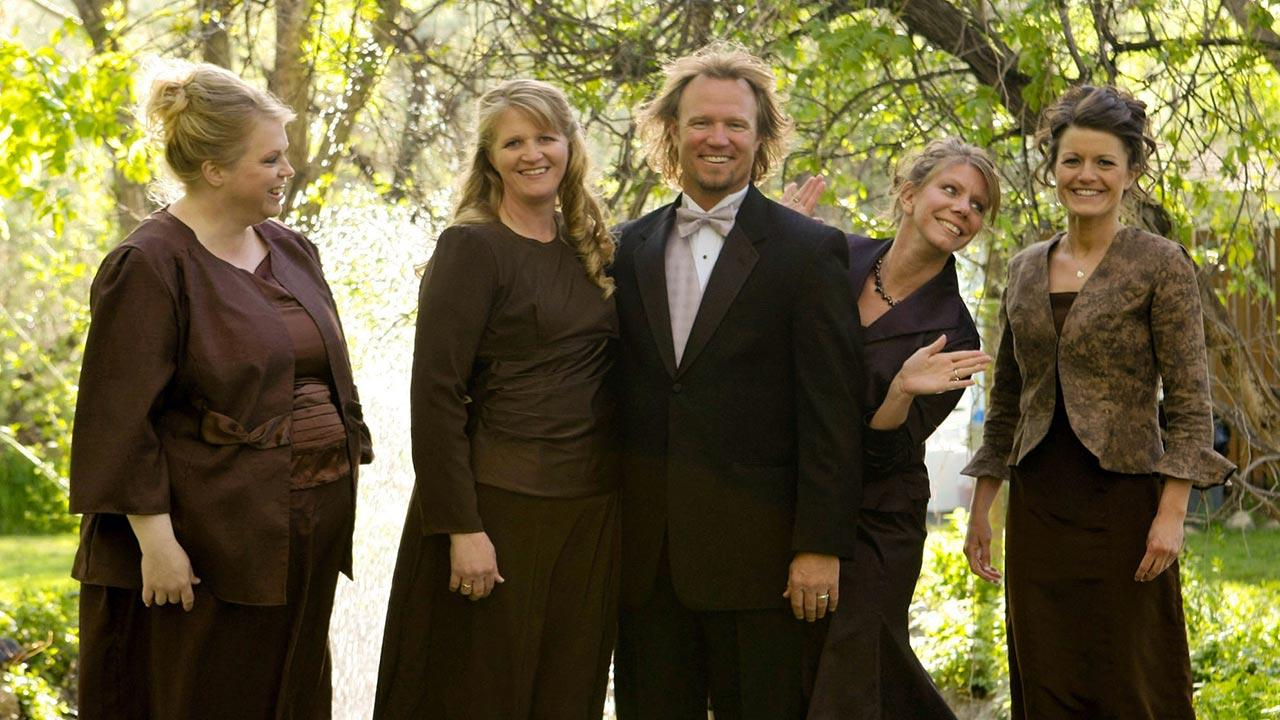 Sister Wives star Kody Brown, Janelle, Christine, Meri, Robyn