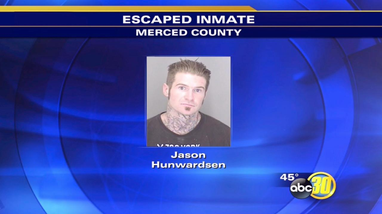 Police arrest escaped Merced County Jail inmate