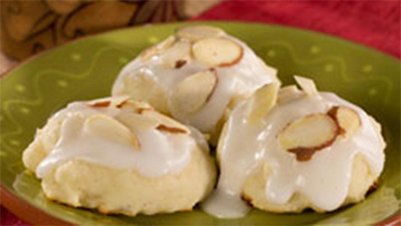 Ricotta Almond Cookies