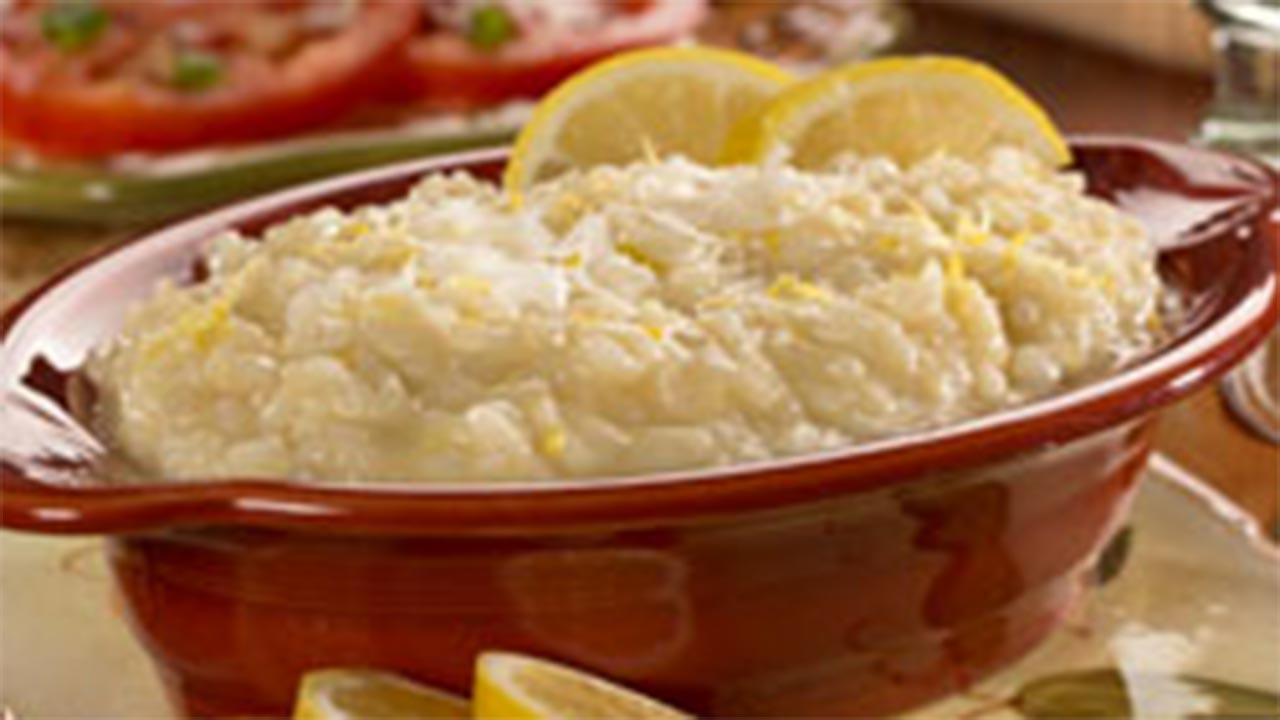 Lemon Parmesan Risotto