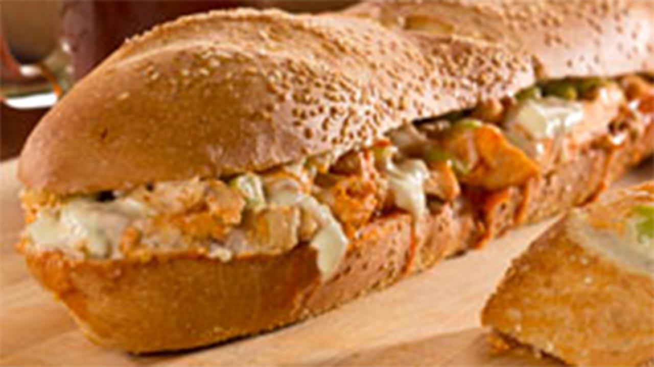Bubblin' Buffalo Chicken Sandwich