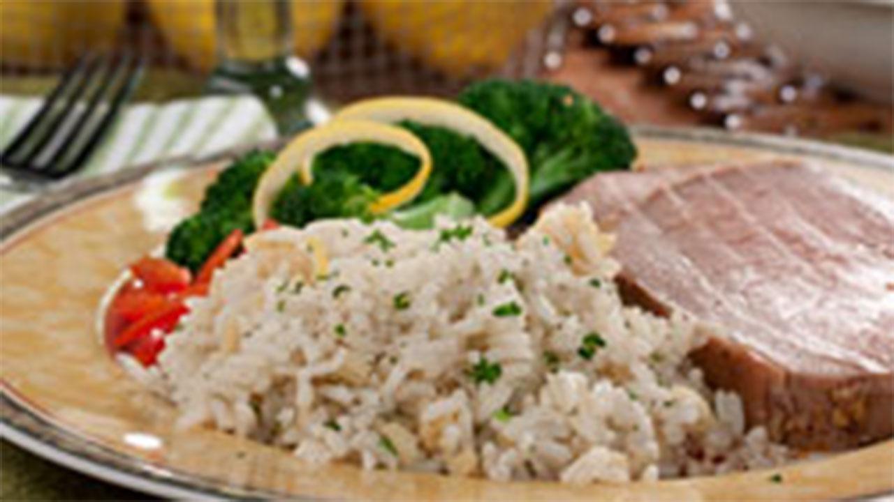 Lemon Garlic Rice