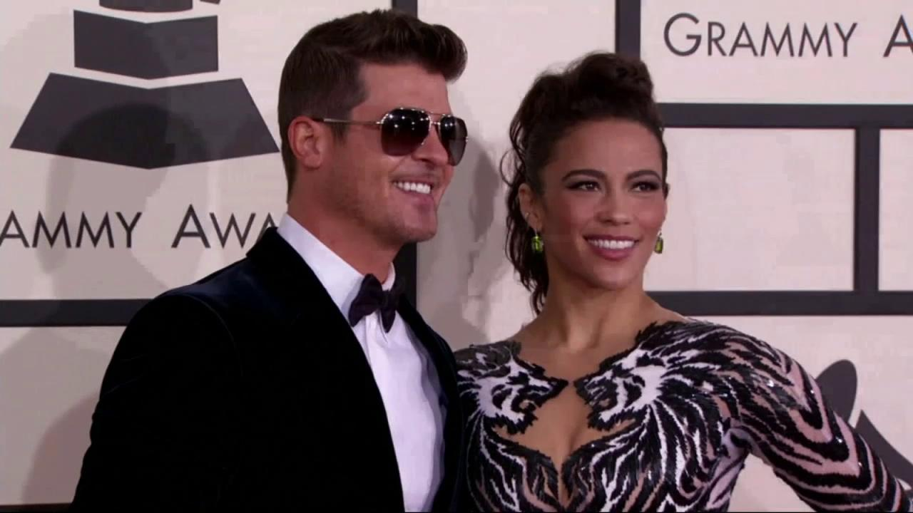 Robin Thicke, Paula Patton splitting up