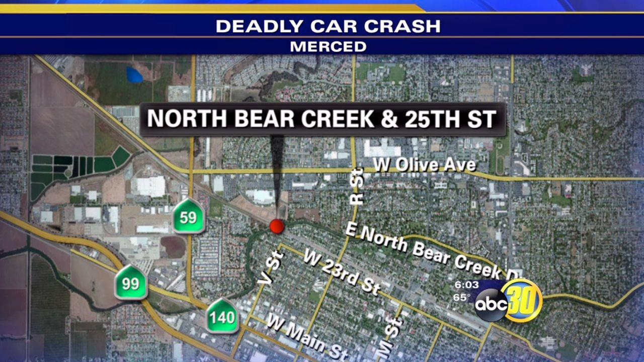 Speed, alcohol suspected in deadly Merced crash