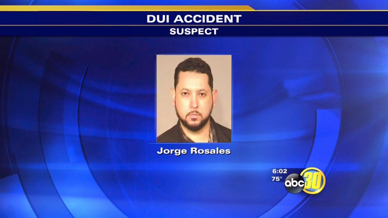 DUI suspect crashes into We Be Sober drivers