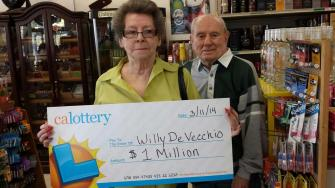 Fresno couple wins $1 million on California Black scratcher