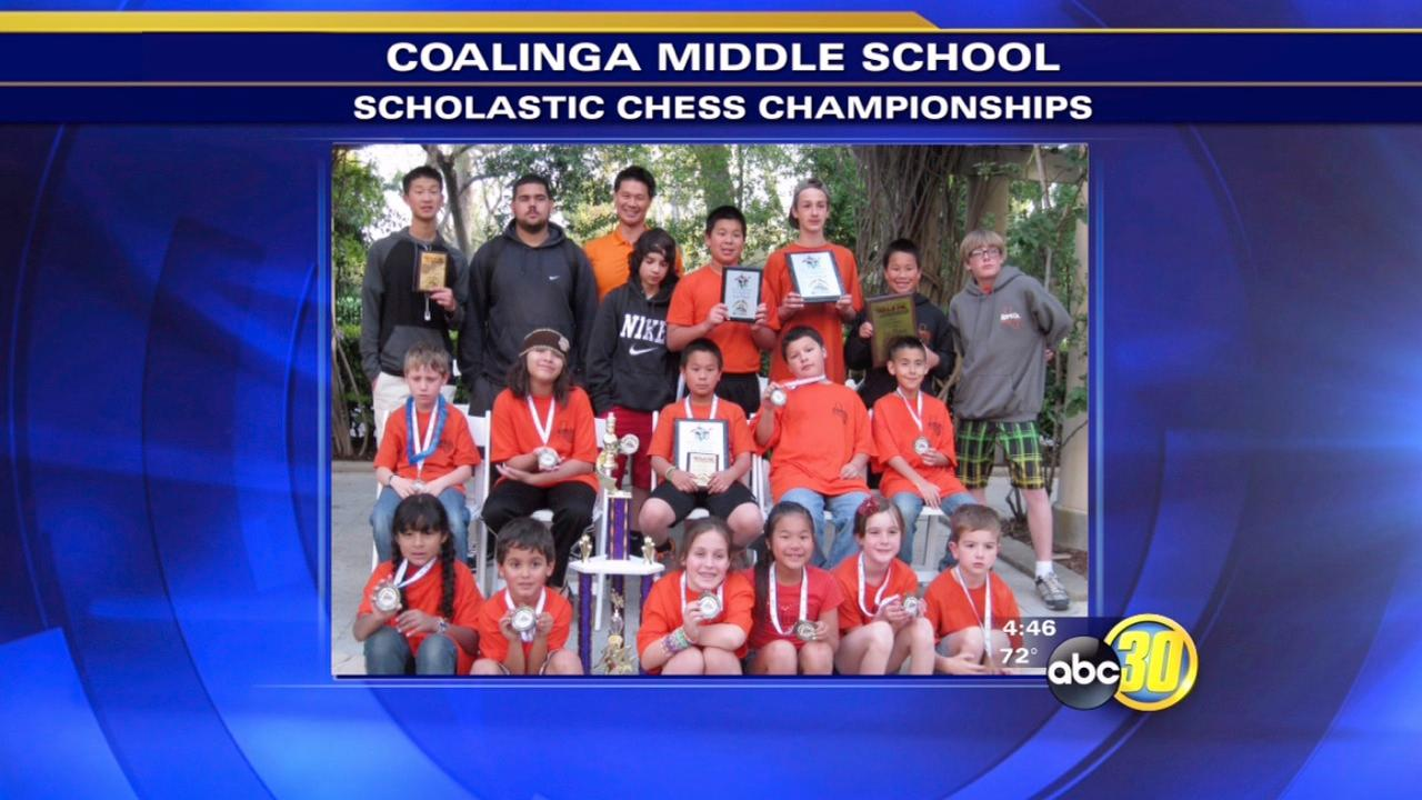 Coalinga chess team scores another championship
