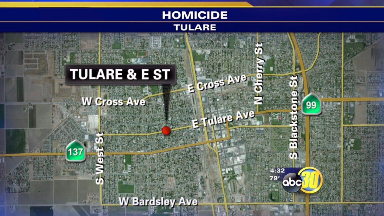 Teenage boy arrested in Tulare homicide