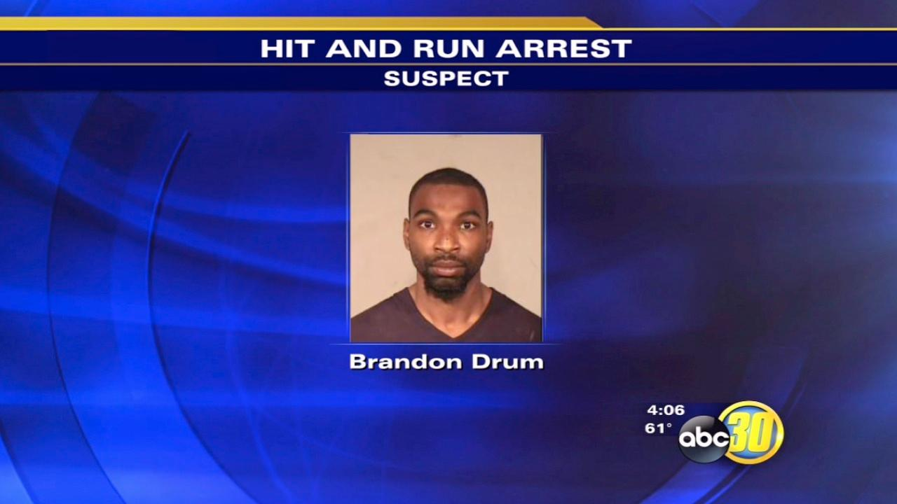 Man arrested for injuring a toddler in a felony hit-and-run