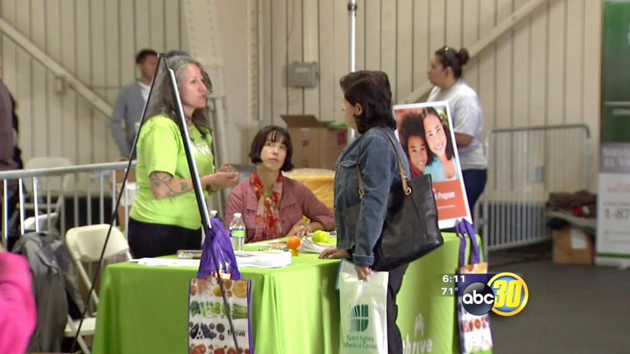Health insurance enrollment event held in Fresno