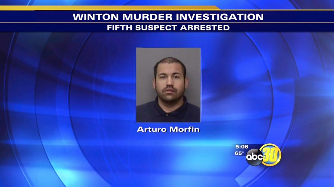5th arrest made in Winton murder investigation