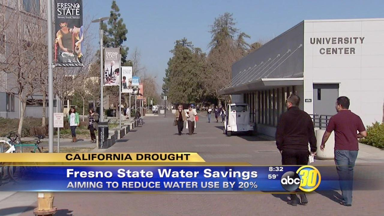Fresno State aims to reduce water use by 20 percent
