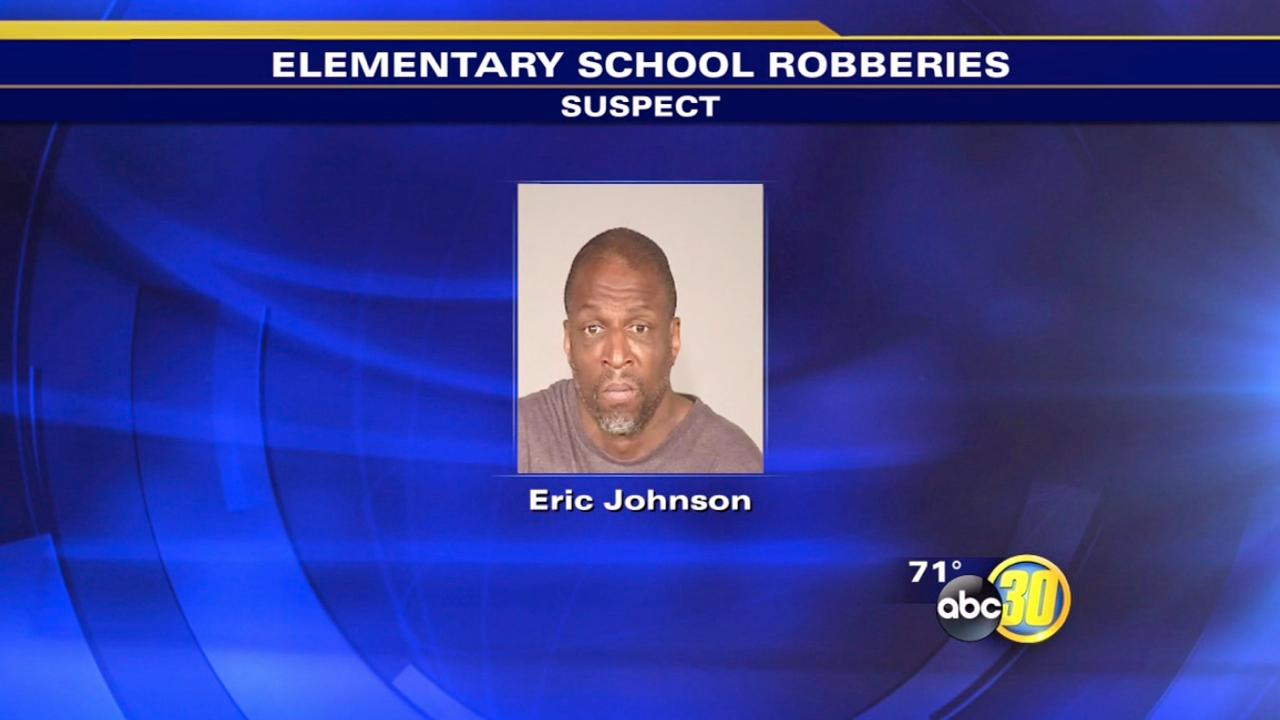 Police arrest Fresno school robbery suspect