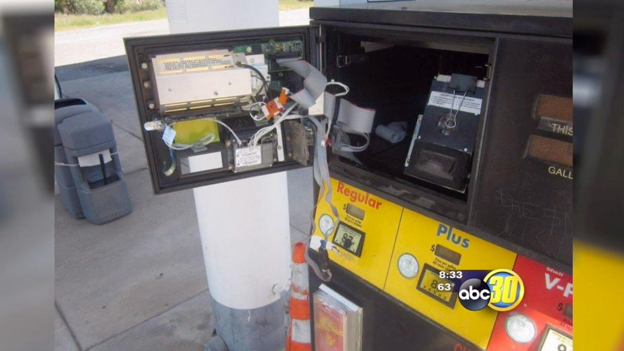 Credit card skimming device found at Mariposa County gas station