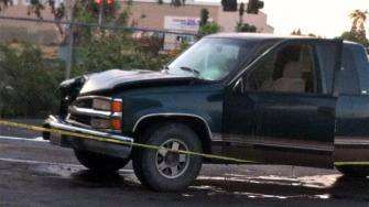 CHP are taking a closer look at this suspected vehicle that could be involved in a fatal pedestrian hit and run