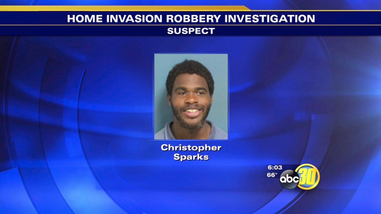 3rd suspect nabbed in Visalia home-invasion robbery