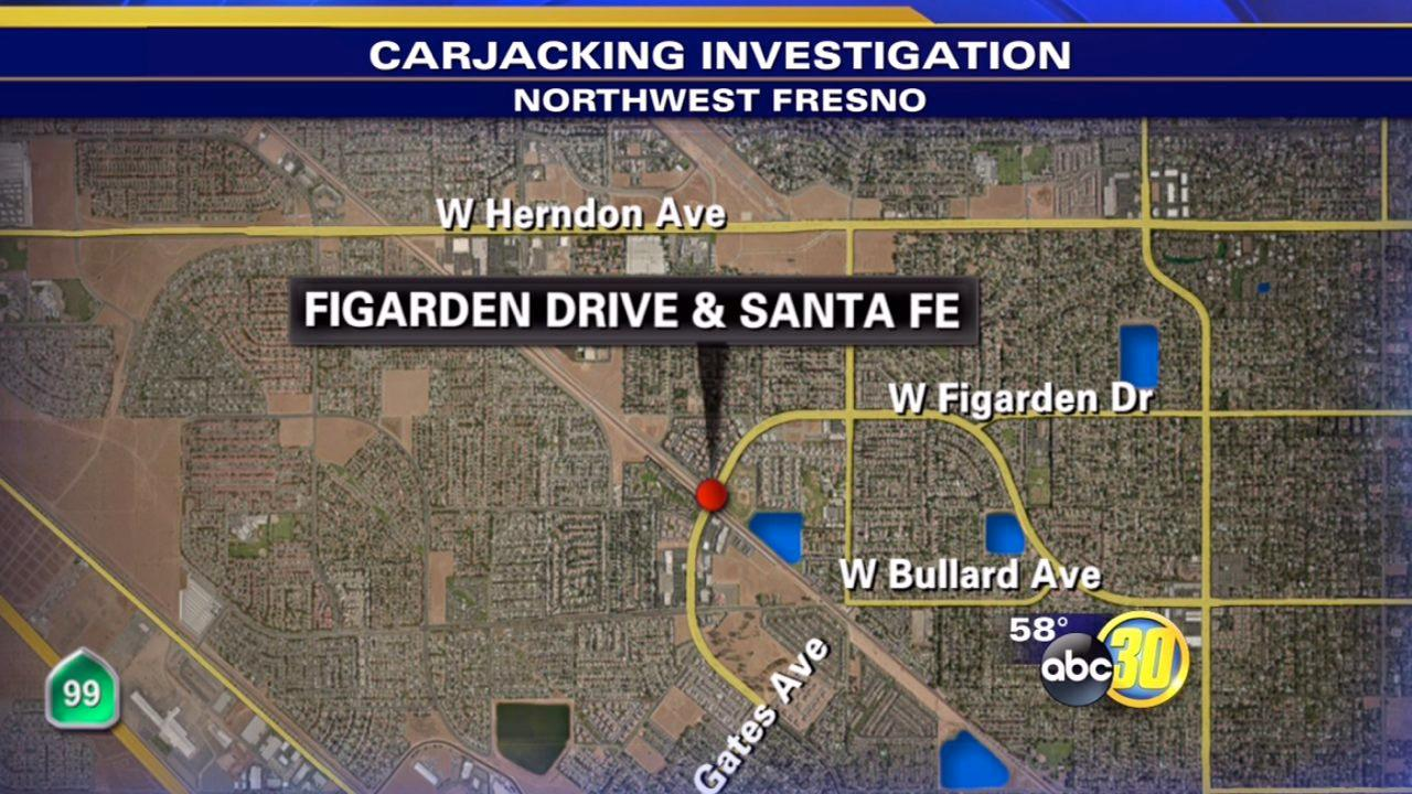 2 sought after violent carjacking in Northwest Fresno