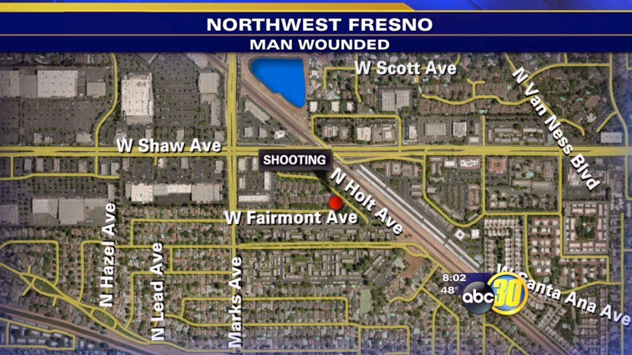 Northwest Fresno shooting sends man to hospital
