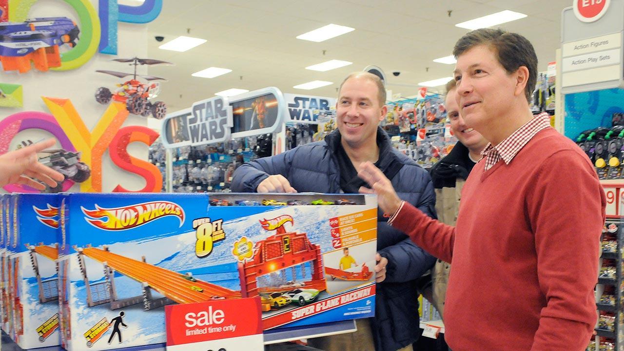 FILE: Gregg Steinhafel, former Target CEO
