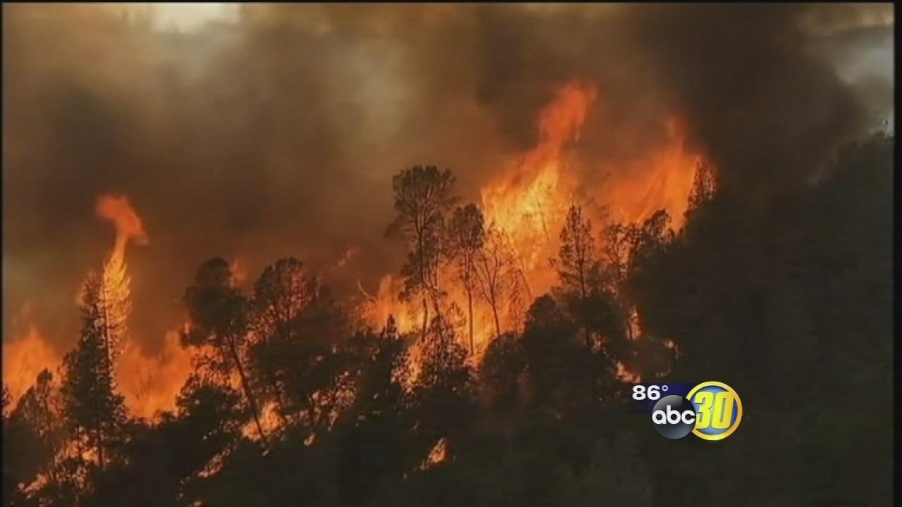 Rim Fire burns 192,466 acres, 30% contained