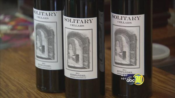 Madera County correctional officers work to build a winery