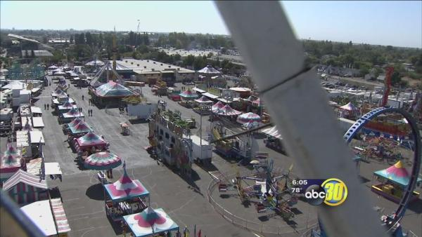 Last day of The Big Fresno Fair