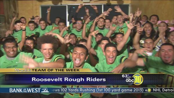 Me-N-Ed's team of the week: Roosevelt Roughriders