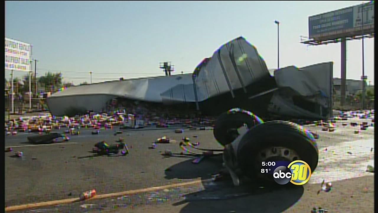 Honda North Fresno >> Northbound Highway 99 in Goshen open after deadly crash | abc30.com