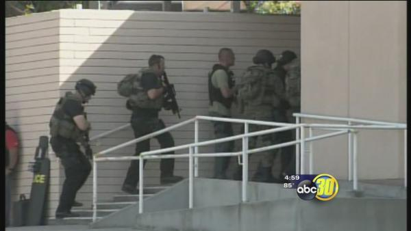 Central Fresno medical building cleared, no gunman found