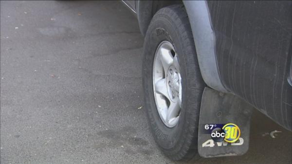 String of tire slashing in Tower District