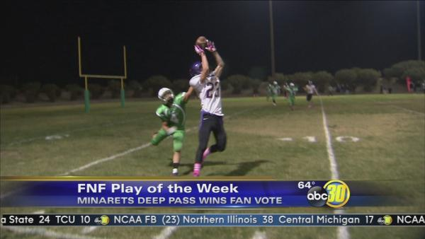 Cosmo Concentration on 4th down wins FNF Play of The Week