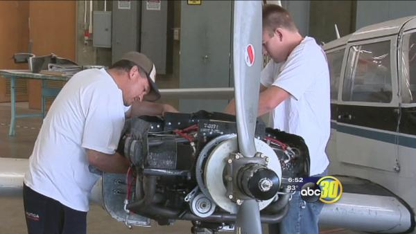 Valley Works: Aviation Maintenance Technology Program