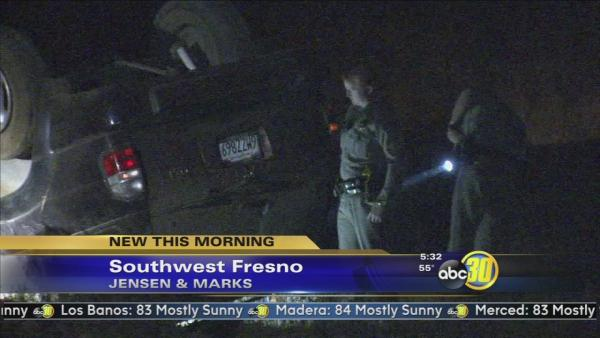 One person dead in a Southwest Fresno crash
