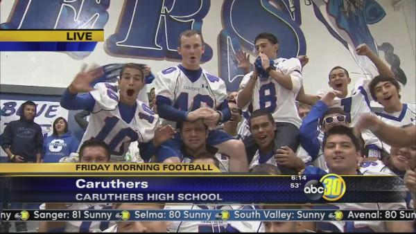 Friday Morning Football: Caruthers Blue Raiders | 1 of 2