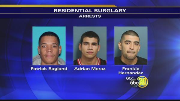 Visalia police bust burglary ring
