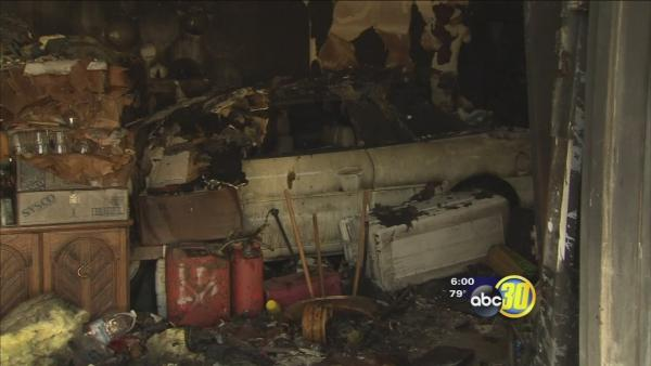Coalinga storage shed fire destroys Valley man's collectibles