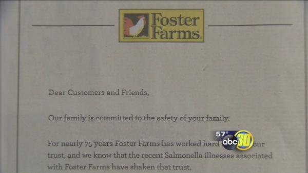 Foster Farms issues apology after USDA health alert