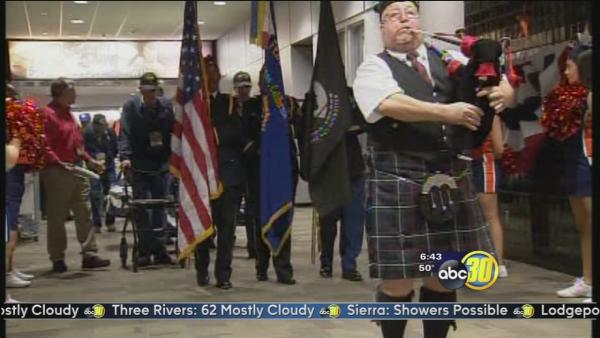 Central Valley's Inaugural Honor Flight takes off