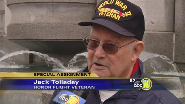 Honor Flight veterans share their emotional journey