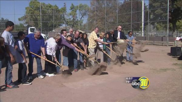 City of Merced breaks ground on McNamara Park renovation